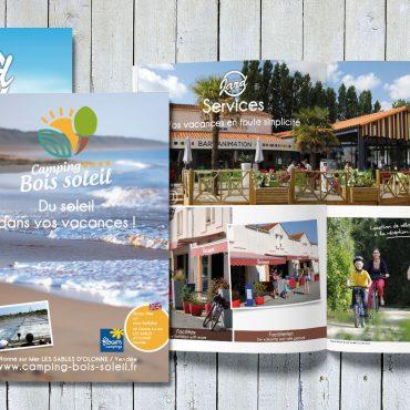 Flyer Brochure camping