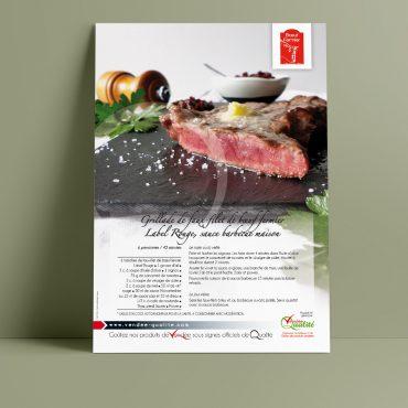 Flyer Vendée Qualité Fiche recette